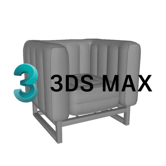 Mojow Mobiliers 3Ds Max