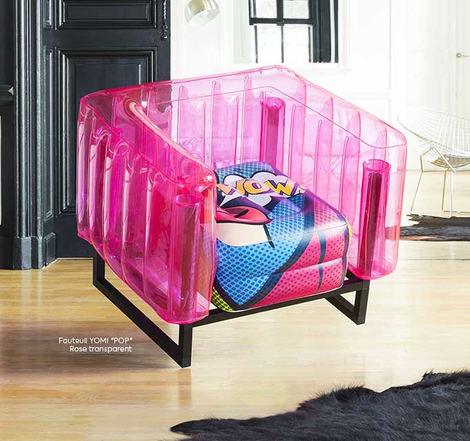 YOMI POP ART ARMCHAIR